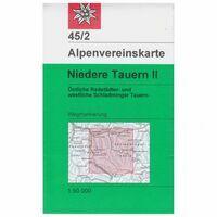 Alpenvereinskarte Wandelkaart 45/2 Niedere Tauern II