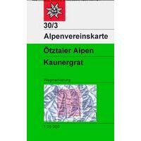 Alpenvereinskarte Wandelkaart 30/3 Ötztaler Alpen