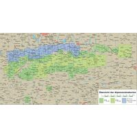 Alpenvereinskarte Topografische Kaart 31/1 Stubaier Alpen