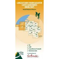 Alta Via Wandelkaart 1 GR West-Vlaanderen & Pas De Calais