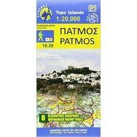 Anavasi Wandelkaart 10.39 Patmos