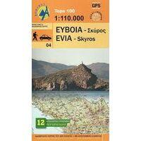 Anavasi Wandelkaart Evia Skyros