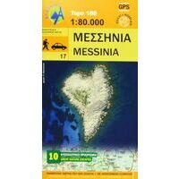Anavasi Wandelkaart Messinia