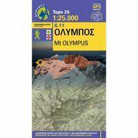 Anavasi Wandelkaart 6.11 Olympus (Griekenland) 1:25.000