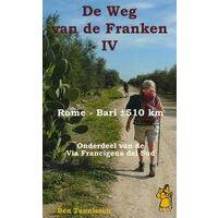 Anoda Publishing Wandelgids De Weg Van De Franken IV
