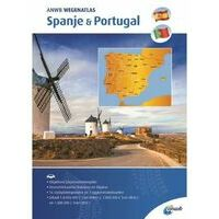 ANWB ANWB Wegenatlas Spanje - Portugal