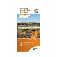 ANWB Fietskaart 01 Terschelling - Friesland Noordwest