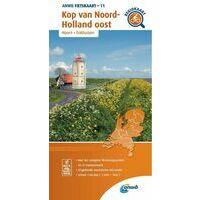 ANWB Fietskaart 11 Kop Van Noord-Holland Oost