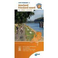 ANWB Fietskaart 2 Ameland - Friesland Noord