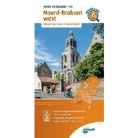 ANWB Fietskaart 34 Noord-Brabant West