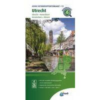 ANWB Fietsknooppuntenkaart 13 Utrecht