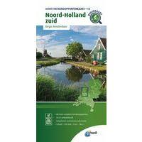 ANWB Fietsknooppuntenkaart 15 Noord-Holland Zuid