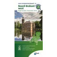 ANWB Fietsknooppuntenkaart 20 Noord-Brabant West