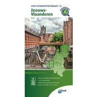 ANWB Fietsknooppuntenkaart 26 Zeeuws-Vlaanderen