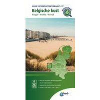 ANWB Fietsknooppuntenkaart 27 Belgische Kust