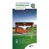 ANWB Fietsknooppuntenkaart 3 Friesland Oost