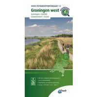 ANWB Fietsknooppuntenkaart 4 Groningen West