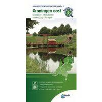 ANWB Fietsknooppuntenkaart 5 Groningen Oost
