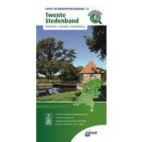 ANWB Fietsknooppuntenkaart 8 Twente Stedenband