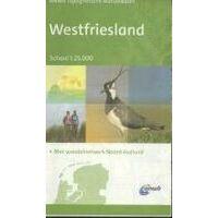 ANWB Topografische Wandelkaart West-Friesland