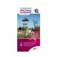 ANWB Wandelregiokaart Alde Feanen - Oranjewoud