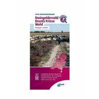 ANWB Wandelregiokaart Dwingelderveld - Drents-Friese Wold