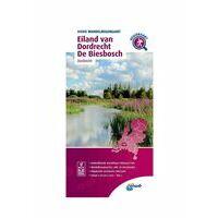 ANWB Wandelregiokaart Eiland Van Dordrecht - Biesbosch