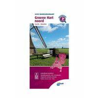 ANWB Wandelregiokaart Groene Hart Noord