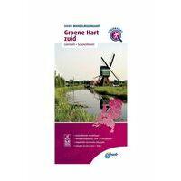 ANWB Wandelregiokaart Groene Hart Zuid