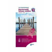 ANWB Wandelregiokaart Horsterwold - Veluwe Midden