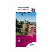 ANWB Wandelregiokaart Montferland