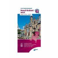 ANWB Wandelregiokaart Noord-Brabant West