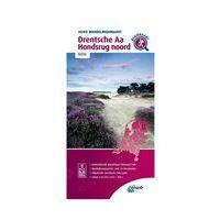 ANWB Wandelregiokaart NP Drentsche Aa - Hondsrug Noord