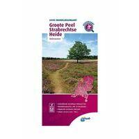 ANWB Wandelregiokaart Groote Peel En Strabrechtse Heide