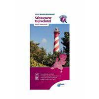 ANWB Wandelregiokaart Schouwen-Duiveland