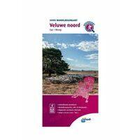 ANWB Wandelregiokaart Veluwe Noord