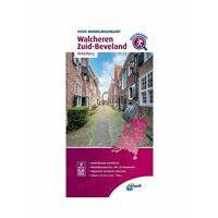 ANWB Wandelregiokaart Walcheren - Zuid-Beveland