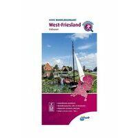 ANWB Wandelregiokaart West-Friesland