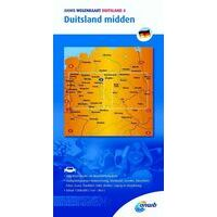 ANWB Wegenkaart 4 Duitsland Midden