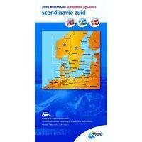 ANWB Wegenkaart 8 Scandinavië Zuid
