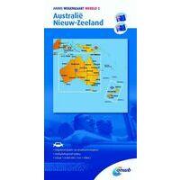 ANWB Wegenkaart Australië - Nieuw-Zeeland