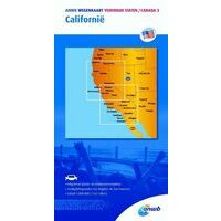 ANWB Wegenkaart Californië