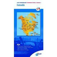 ANWB Wegenkaart Canada