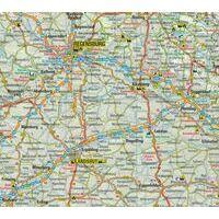 ANWB Wegenkaart Duitsland Zuid
