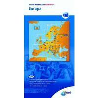 ANWB Wegenkaart Europa