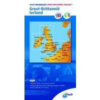 ANWB Wegenkaart Groot-Brittanië - Ierland