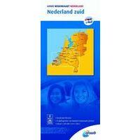 ANWB Wegenkaart Nederland Zuid 1:200.000
