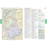 Benchmark Maps Wegenatlas Road & Recreation Atlas Utah