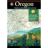 Benchmark Maps Wegenatlas Oregon Road & Recreation Atlas