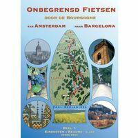 Benjaminse Uitgeverij Fietsgids Amsterdam-Barcelona Deel 1